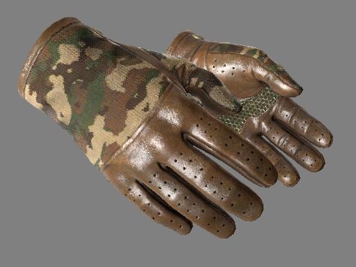 ★ Водительские перчатки | Конвой (Немного поношенное) - вид 1
