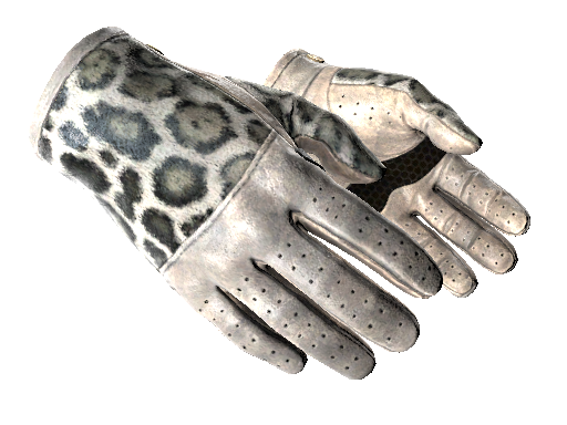 ★ Driver Gloves | Snow Leopard (Battle-Scarred)