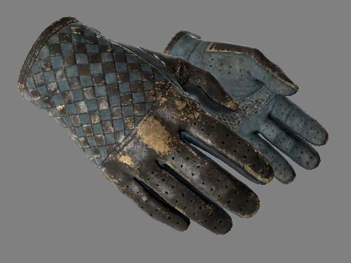 ★ Водительские перчатки | Лунный узор (Закаленное в боях)