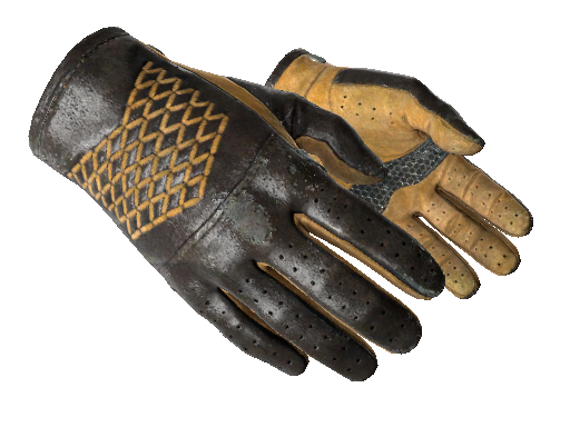 ★ Driver Gloves | Overtake (Well-Worn)