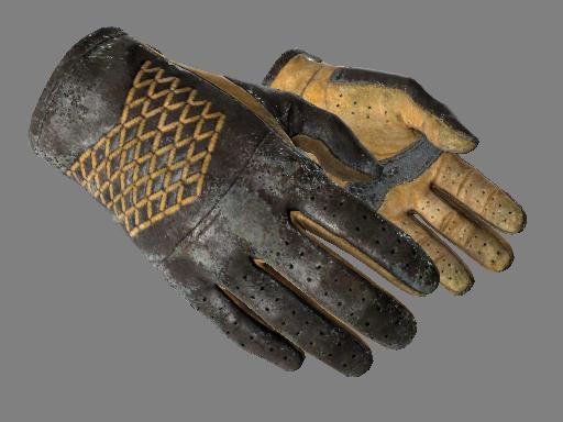 Driver Gloves   Overtake Battle-Scarred