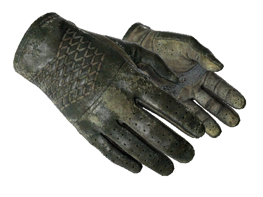 ★ Driver Gloves | Racing Green Battle-Scarred