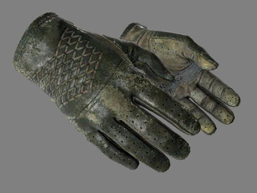★ Водительские перчатки | Гоночный зелёный (Закаленное в боях)