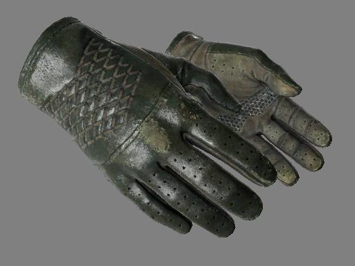 ★ Водительские перчатки | Гоночный зелёный (После полевых испытаний)