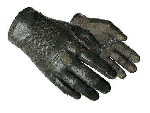★ Driver Gloves | Racing Green Field-Tested