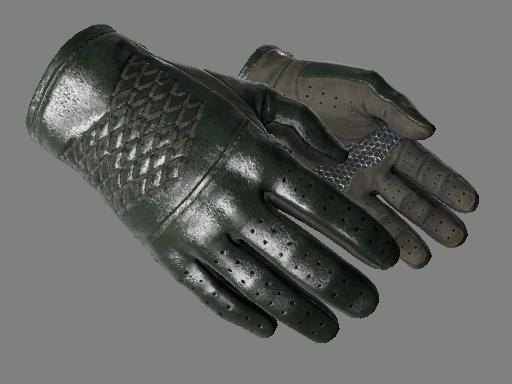 ★ Водительские перчатки | Гоночный зелёный (Немного поношенное)