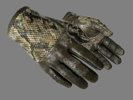 ★ Водительские перчатки | Гремучая змея (Закалённое в боях)