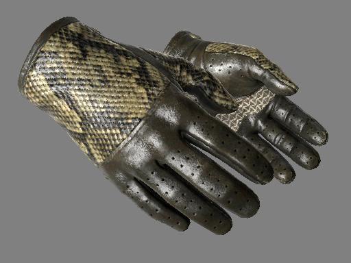 ★ Водительские перчатки | Гремучая змея (После полевых испытаний)