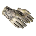 ★ Driver Gloves | King Snake <br>(Battle-Scarred)