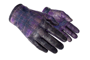 Driver Gloves Imperial Plaid Battle Scarred