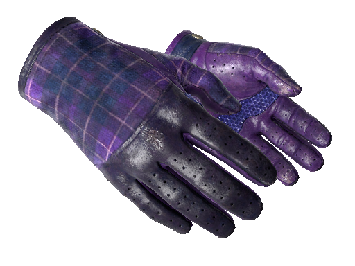 Clutch ★ Driver Gloves Imperial Plaid