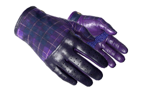 Driver Gloves Imperial Plaid Minimal Wear