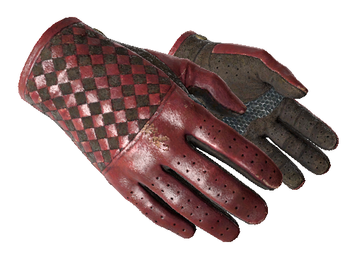 Glove ★ Driver Gloves Crimson Weave