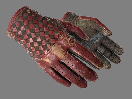 ★ Driver Gloves | Crimson Weave (Battle-Scarred)
