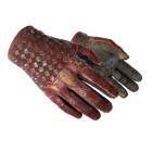 ★ Driver Gloves   Crimson Weave (Battle-Scarred)