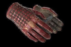 Driver Gloves Crimson Weave Battle Scarred