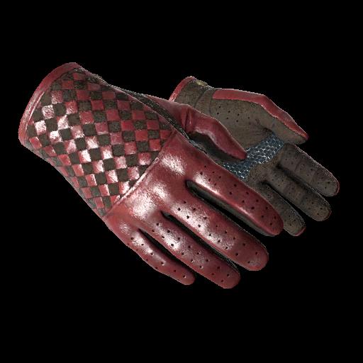 Driver Gloves | Crimson Weave - gocase.pro