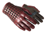 Driver Gloves - Crimson Weave
