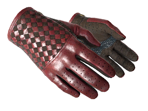 ★ Driver Gloves | Crimson Weave Minimal Wear