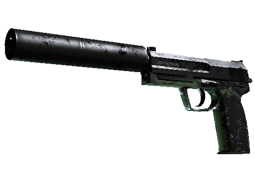 USP-S | Para Green Battle-Scarred
