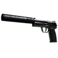 USP-S | Para Green <br>(Battle-Scarred)