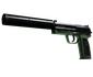 USP-S | Para Green (Well-Worn)