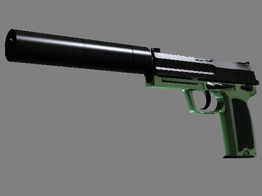USP-S | Para Green (Battle-Scarred)
