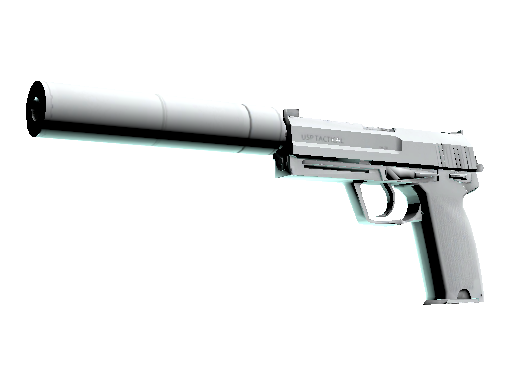 USP-S | Whiteout (Battle-Scarred)