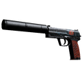 USP-S | Caiman <br>(Well-Worn)