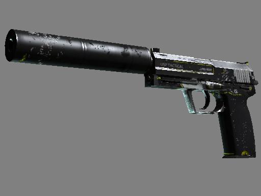 Скин USP-S | Закрученный (Закаленное в боях)