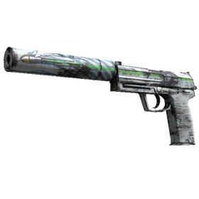 USP-S | Road Rash (Minimal Wear)