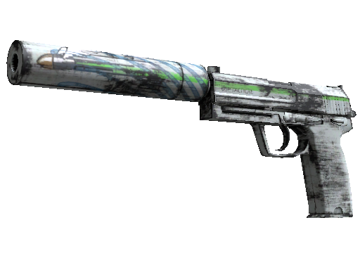 USP-S | Road Rash (Battle-Scarred)