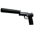 StatTrak™ USP-S | Stainless <br>(Battle-Scarred)