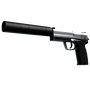 StatTrak™ USP-S | Stainless (Field-Tested)