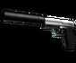 StatTrak™ USP-S | Stainless (Factory New)