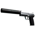StatTrak™ USP-S | Stainless <br>(Factory New)