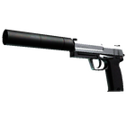 StatTrak™ USP-S | Stainless (Factory New)