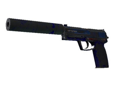 Сувенирный USP-S | Королевский синий (Закаленное в боях)