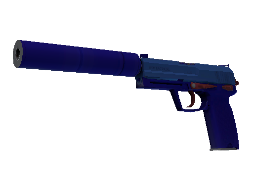 USP-S  |  Royal Blue  Minimal Wear