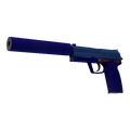 Souvenir USP-S | Royal Blue <br>(Minimal Wear)
