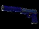 USP-S   Royal Blue (Well-Worn)