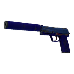Souvenir USP-S | Royal Blue (Well-Worn)