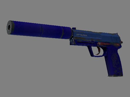 Скин USP-S | Королевский синий (После полевых испытаний)