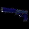 Souvenir USP-S | Royal Blue <br>(Well-Worn)
