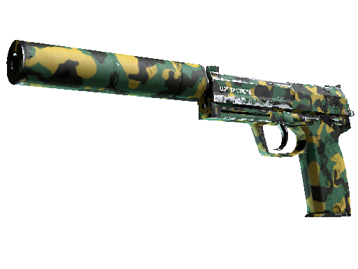 USP-S | Overgrowth Well-Worn