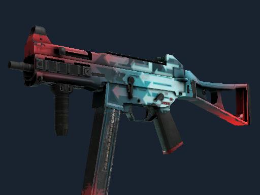 Скин StatTrak™ UMP-45 | Динамика (Поношенное)