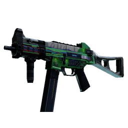 StatTrak™ UMP-45 | Plastique (Factory New)