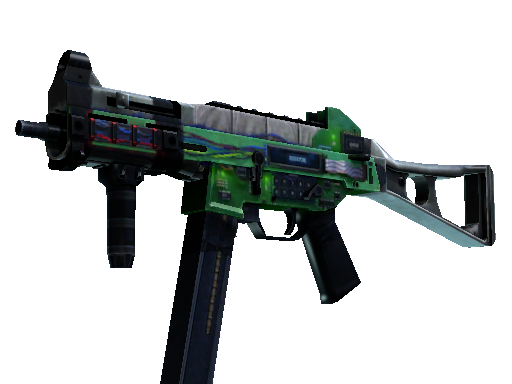 StatTrak™ UMP-45 | Plastique (Battle-Scarred)
