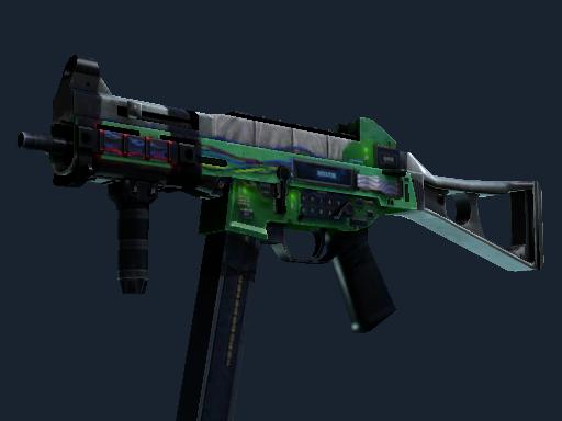 Скин UMP-45 | Взрывчатка (После полевых испытаний)