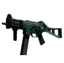 UMP-45 | Plastique (Battle-Scarred)